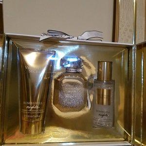 Bombshell pefume and lotion set